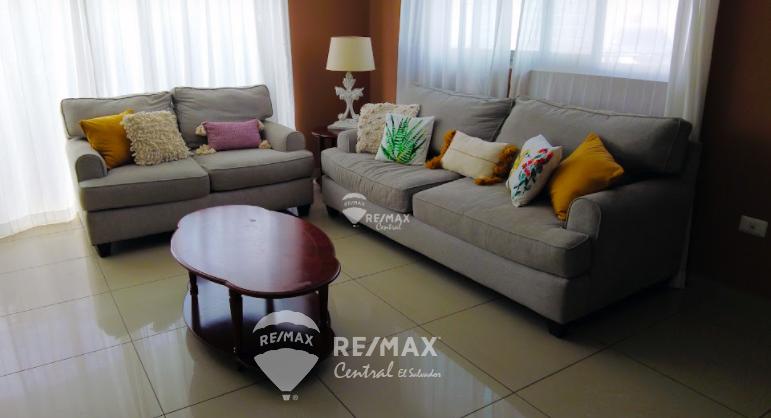 Remax real estate, El Salvador, San Salvador, Furnished apartment in Sole Blu tower