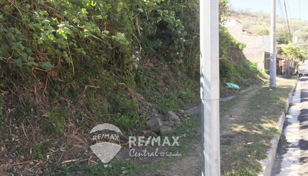LAND OF 632 V2 FOR SALE IN CUMBRES DE CUSCATLAN