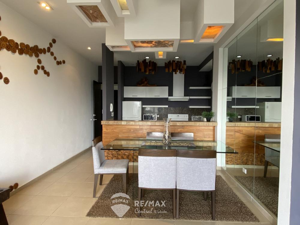 Remax real estate, El Salvador, San Salvador, Apartment for Sale in Condominio Murano Colonia Escalón