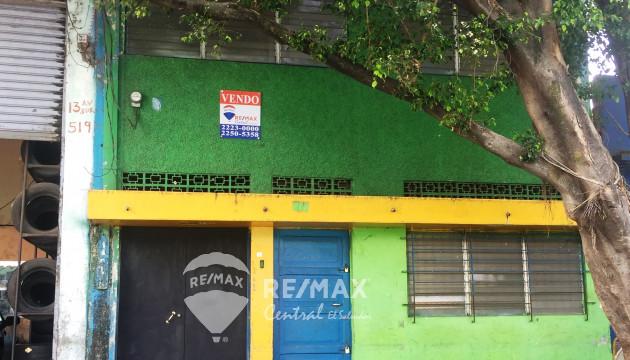 CASA EN VENTA ZONA COMERCIAL CENTRO DE SAN SALVADOR