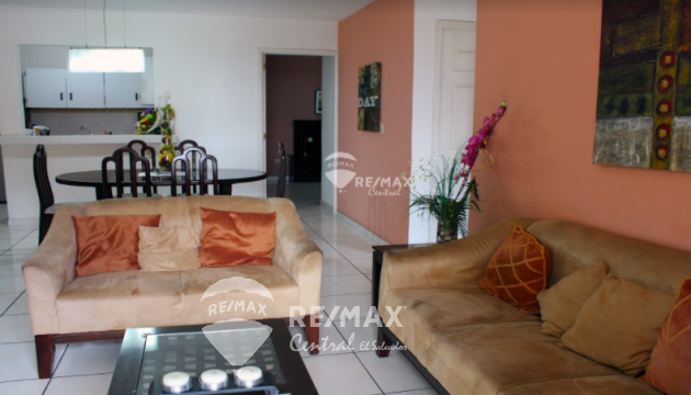 En alquiler agradable apartamento totalmente equipado en Colonia Escalón
