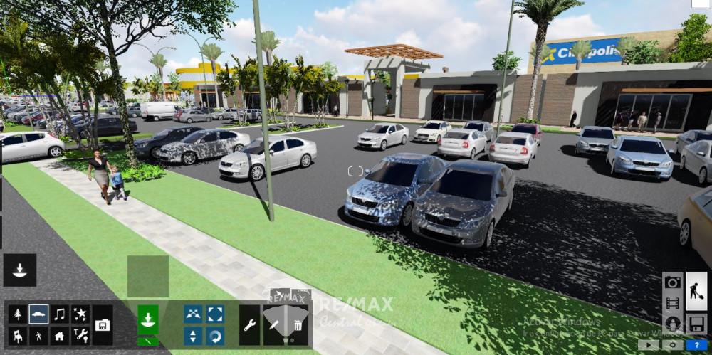 Remax real estate, El Salvador, San Miquel, Retail space in Garden Mall