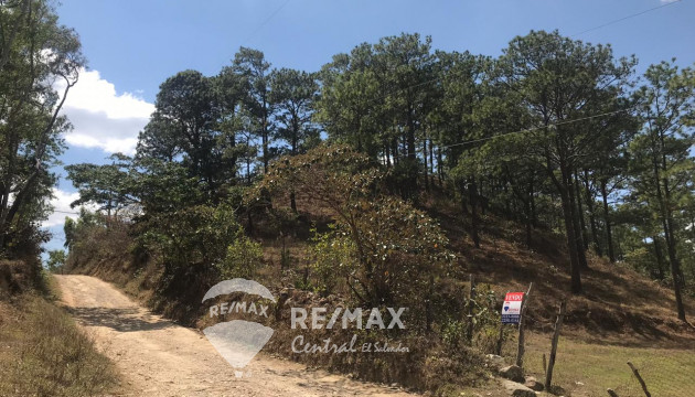 LAND FOR SALE WITH AWESOME VIEW IN SAN IGNACIO CHALATENANGO